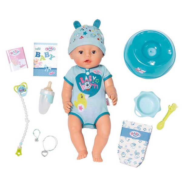 Niño Baby Born Interactivo