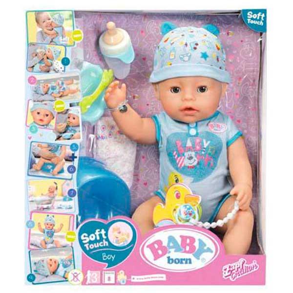 Niño Baby Born Interactivo - Imagen 1