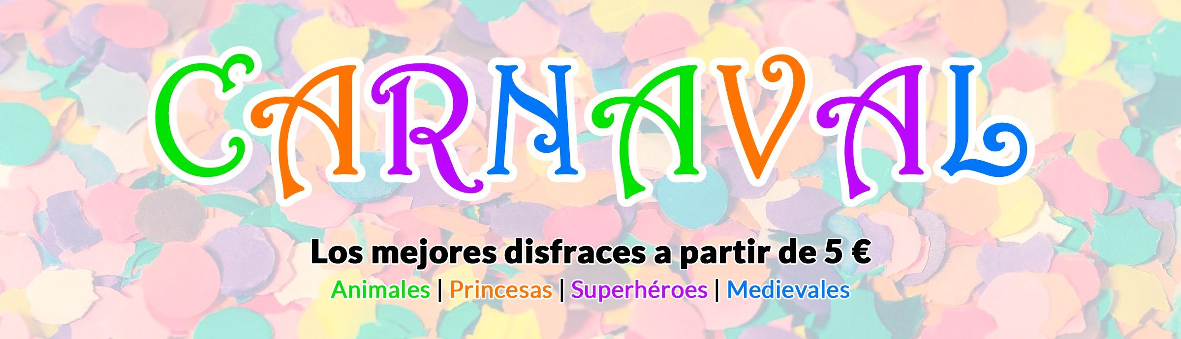 Disfraces Disney Niña Carnaval 2020