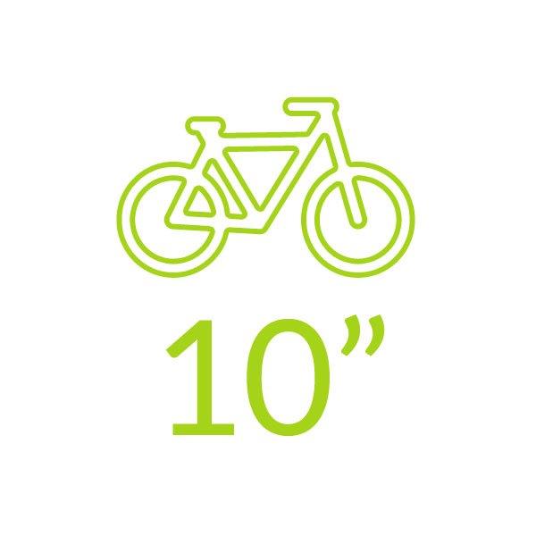 Bicicletas 10 polegadas