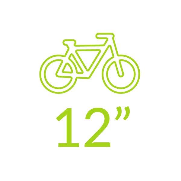 Bicicletas 12 polegadas