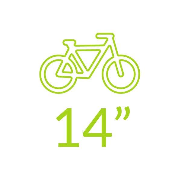 Bicicletas 14 polegadas